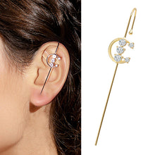 Load image into Gallery viewer, Ear Wrap Crawler Hook Earrings
