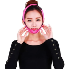 Load image into Gallery viewer, Face Slimming Strap Chin Lift Face Mask Adjustable