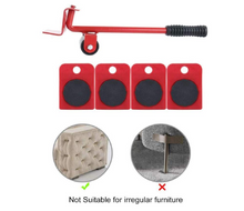 Load image into Gallery viewer, Heavy Duty Furniture Slides Kit Furniture Lifter Slide Kits 5 Packs
