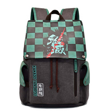 Load image into Gallery viewer, Backpack Demon Slyer Kamado Tanjiro Accessories Front