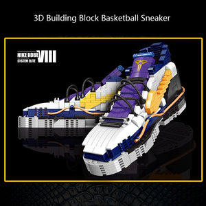 3D Building Block NBA Basketball Sneaker