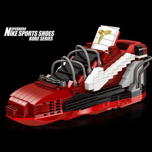 3D Building Block NBA Basketball Sneaker Basketball Fans Gift