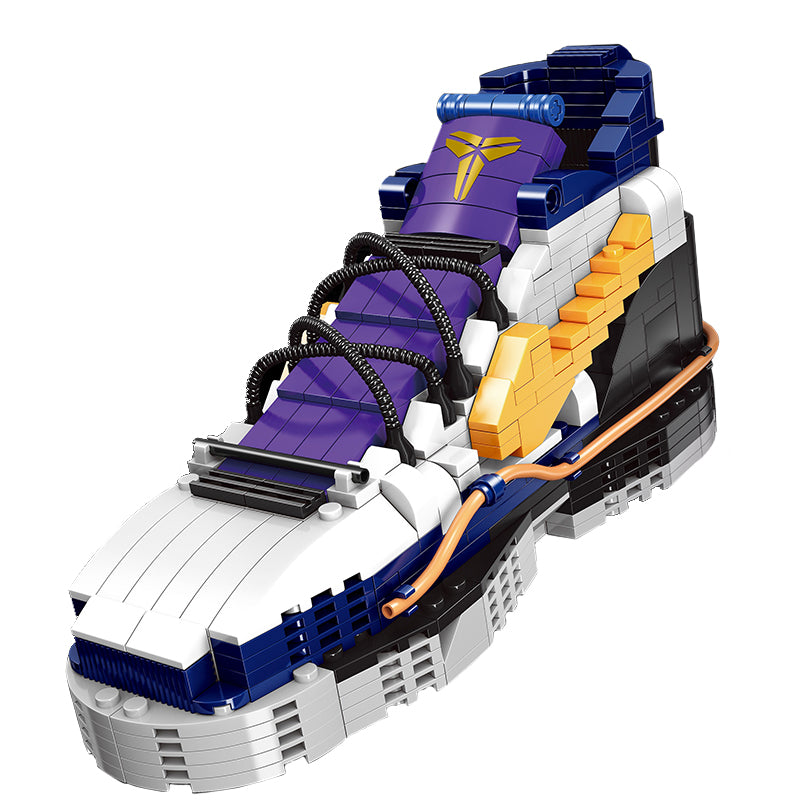 3D building block in the shape of Nike Kobe VIII sports sneaker