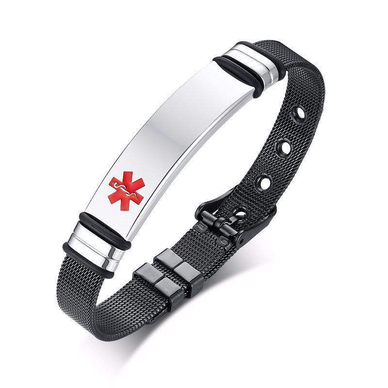 Personalized Medical Alert Bracelet
