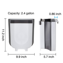 Load image into Gallery viewer, Plastic Foldable Kitchen Garbage Bin and Trash Can