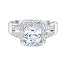 Load image into Gallery viewer, Princess Cut Engagement Rings