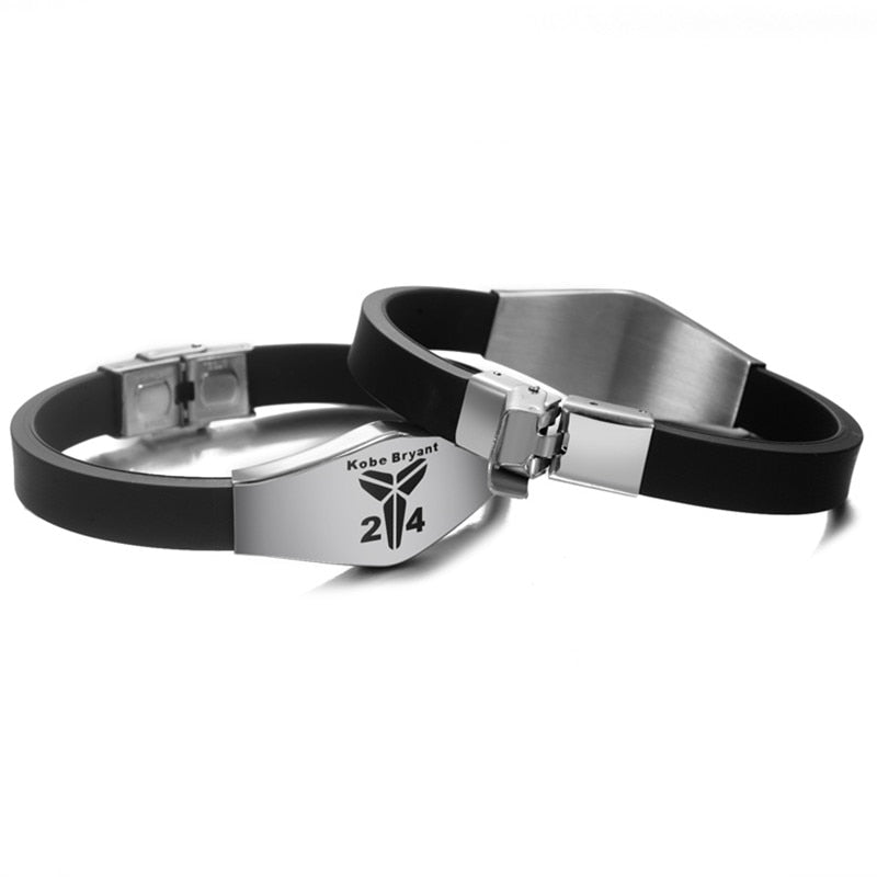 Basketball Player Bracelets Stainless Steel Adjustable ID Bracelets