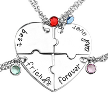 Load image into Gallery viewer, friendship necklace pendant bff gifts