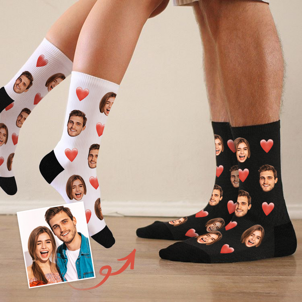 Love Face Custom Socks