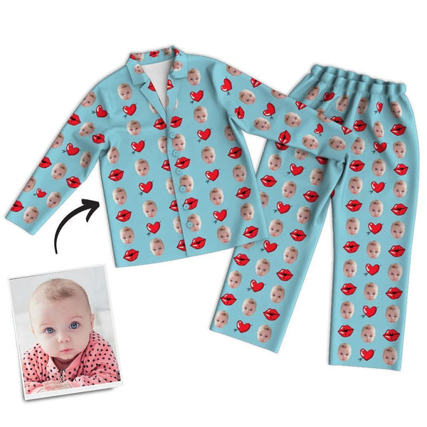 Custom Face Pajamas - Kiss
