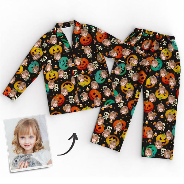 Custom Face Pajamas - Halloween