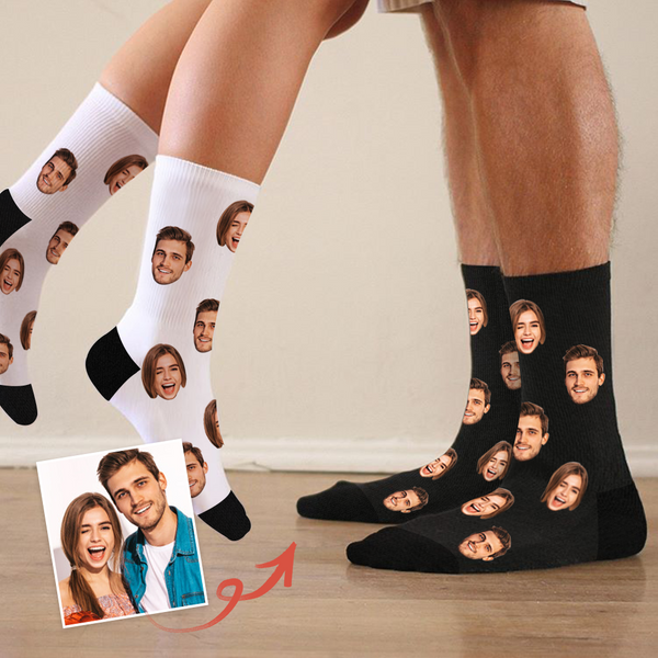 Custom Funny Face Socks