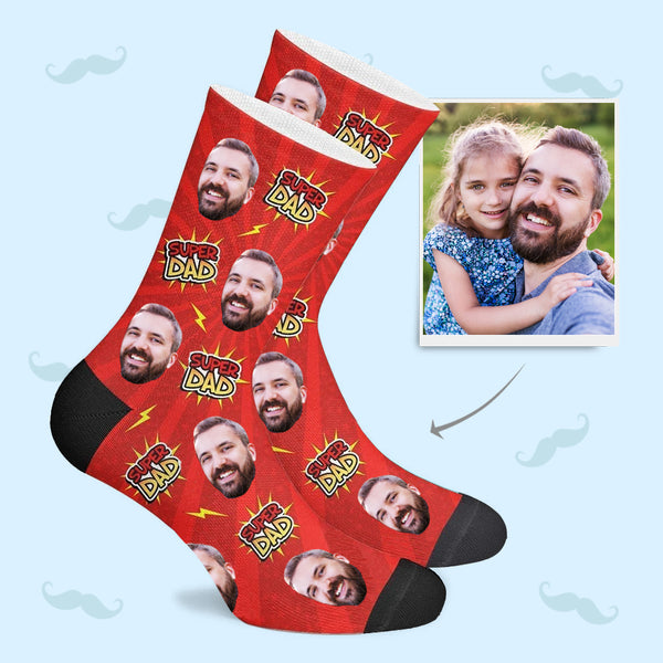 Super Dad Custom Socks