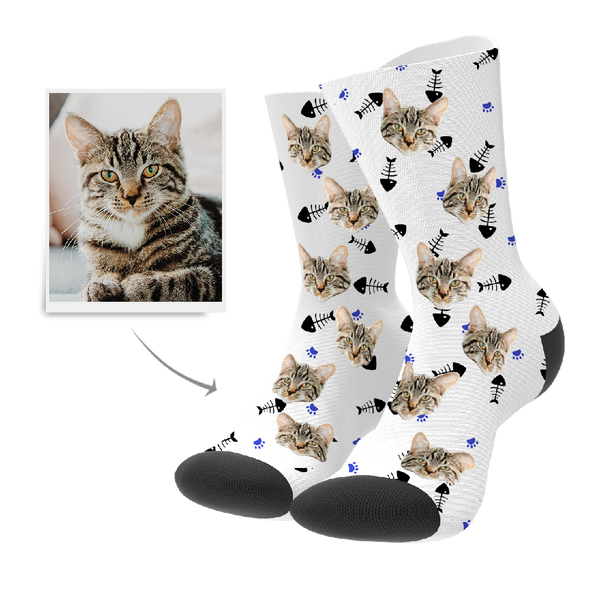 Cat Custom Socks