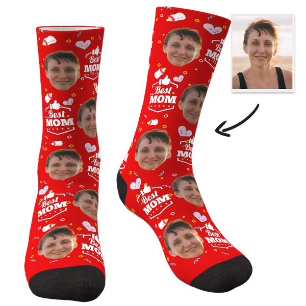 Best Mom Custom Socks