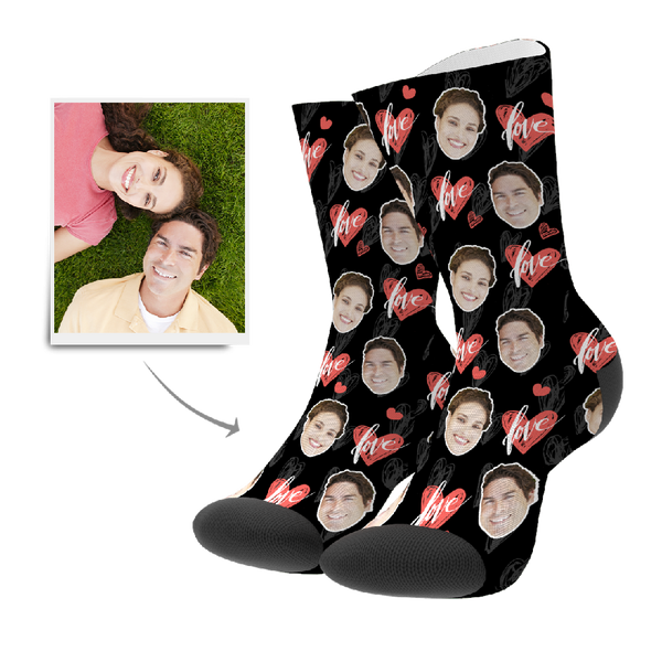 Heartbeat Custom Socks