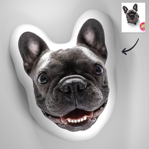 Custom Photo Pet 3D Portrait Pillow