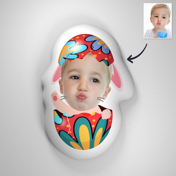 Custom Easter Egg 3D Portrait Pillow