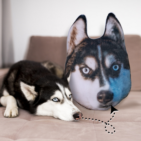 Custom Pet Dog Face Toy Pillow