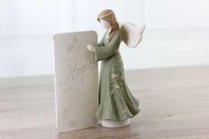 Inspirational gifts include Hope Embrace Prayer Angel figurine.