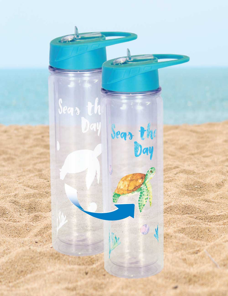 Cold Changing Waterbottle  - Seas Turtle