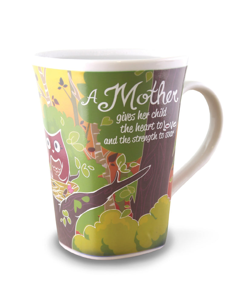 Three Mother mugs show the transformation from cold to hot. Available at thinkpraygift.com