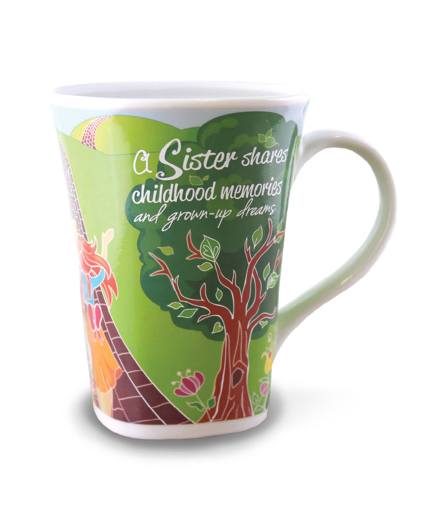 Sister Mug - Color Changing Story Mug