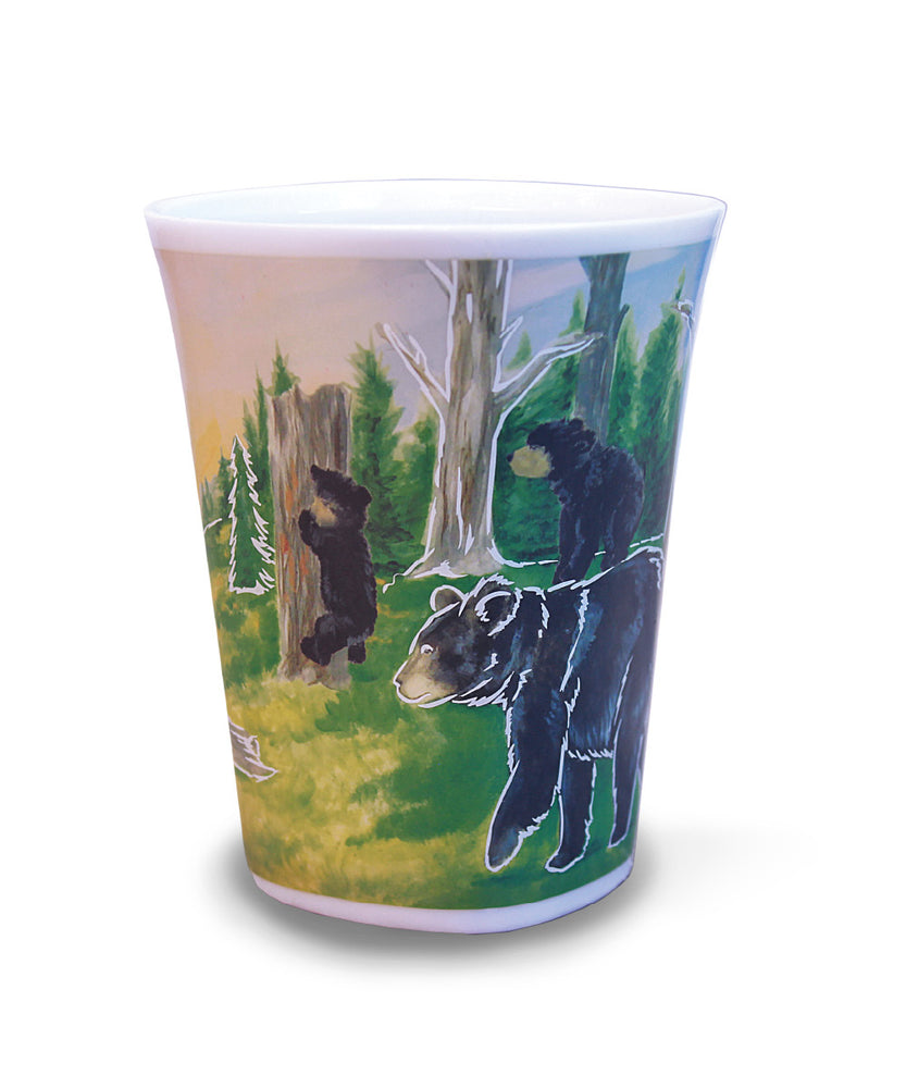 Adventurous Black Bear - Color Changing Story Mug