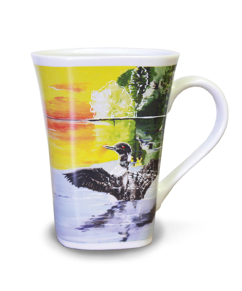Peaceful Loon - Color Changing Story Mug