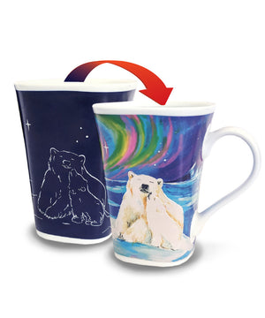 Bear Hug - Color Changing Story Mug