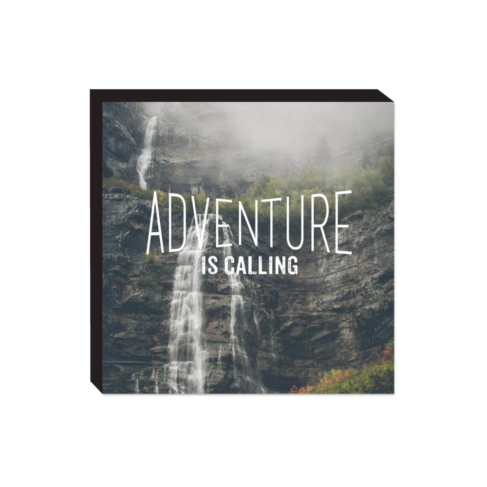 Block Sign - Adventure