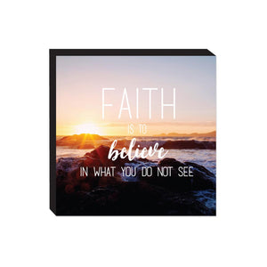 Block Sign - Faith
