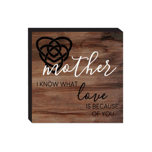 Block Sign - Mother
