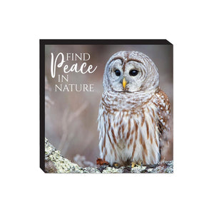 Block Sign - Wildbirds - Peace