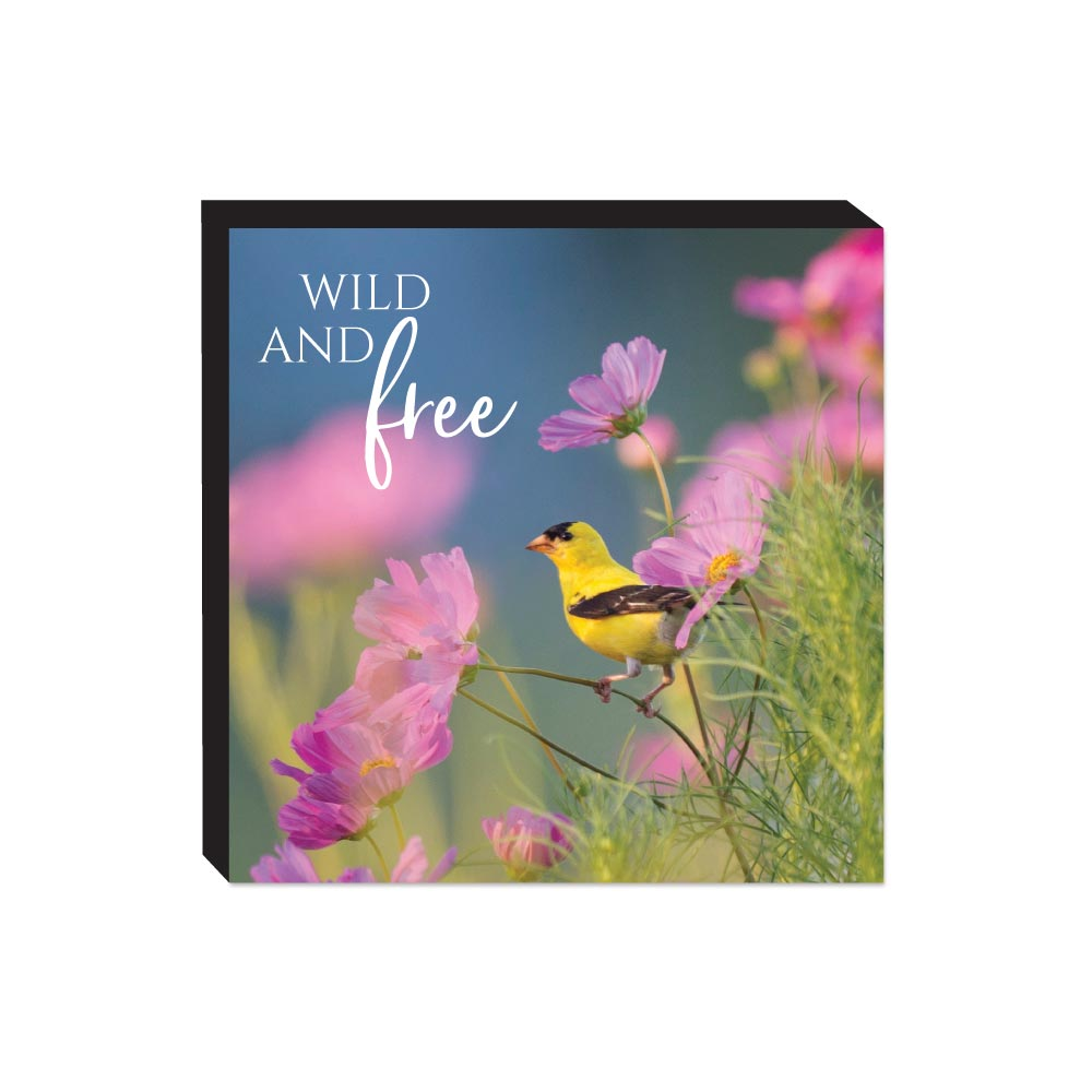 Block Sign - Wildbirds - Free