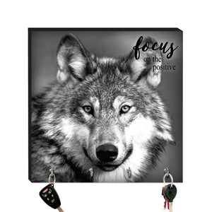 10.5in Key Hook - Wolf
