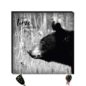 10.5in Key Hook - Black Bear
