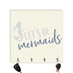 10.5in Key Hook - Let's Be Mermaids