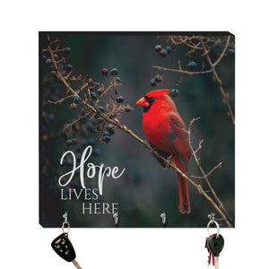 10.5in Key Hook - Wildbirds - Hope