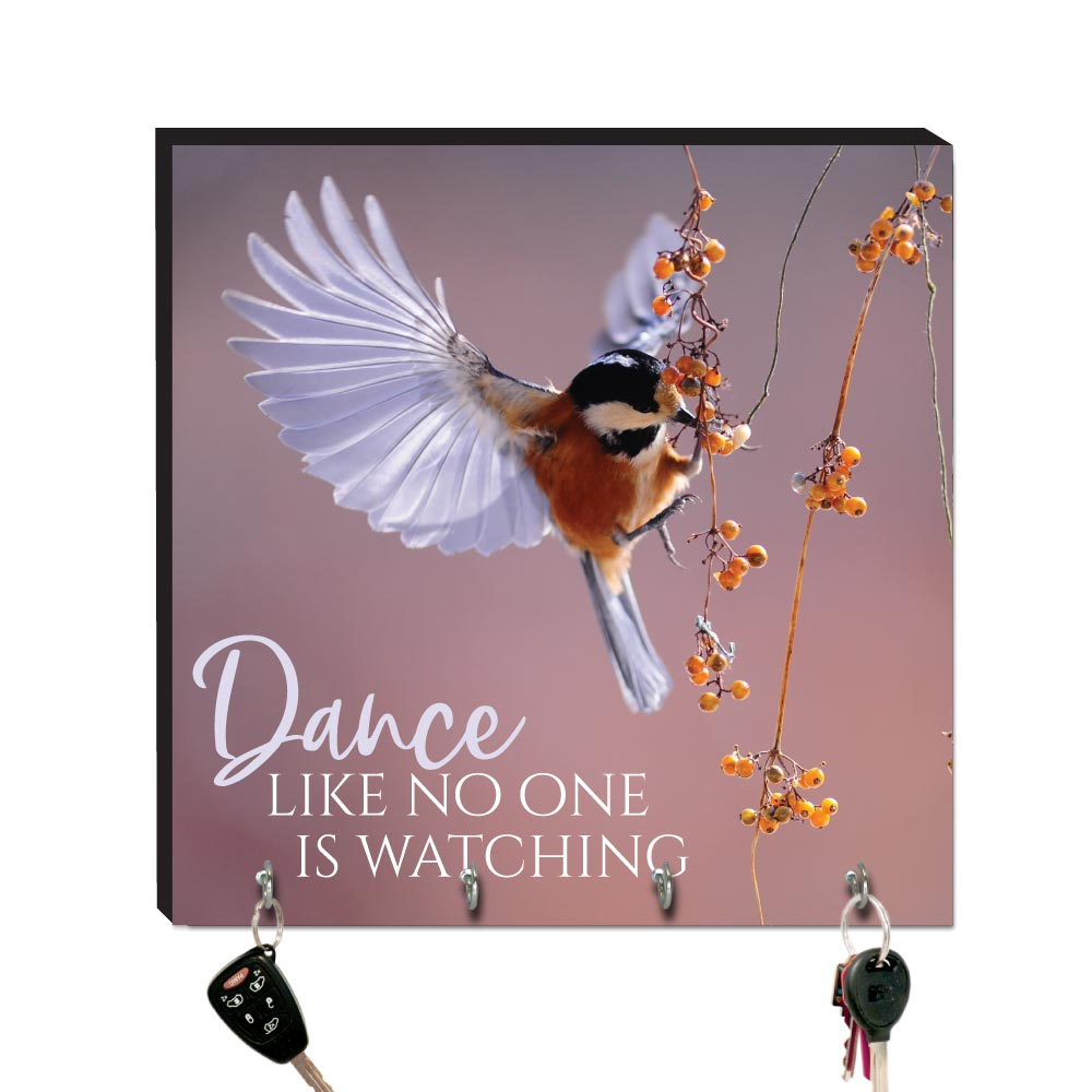 10.5in Key Hook - Wildbirds - Dance