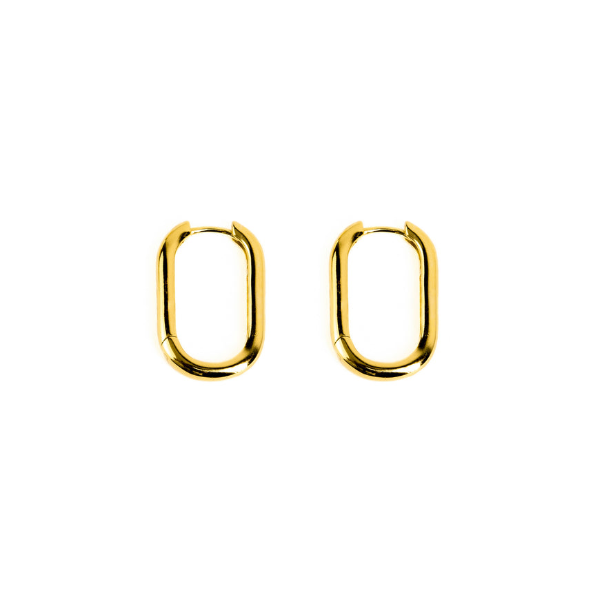B.P. | LARGE OVAL HOOP EARRINGS