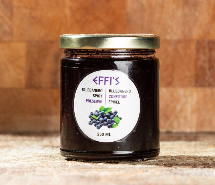 Effi's Spicy Blueberry Preserve