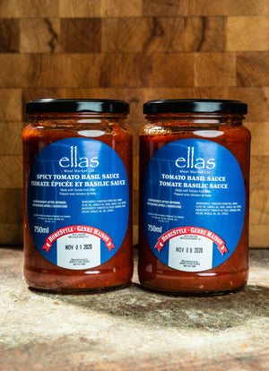 Load image into Gallery viewer, Ellas Spicy Tomato Basil Sauce