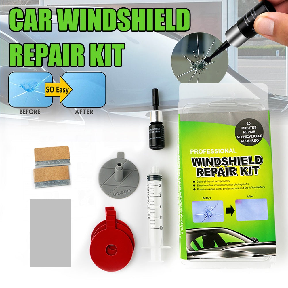 Windshield Repair Resin Kit