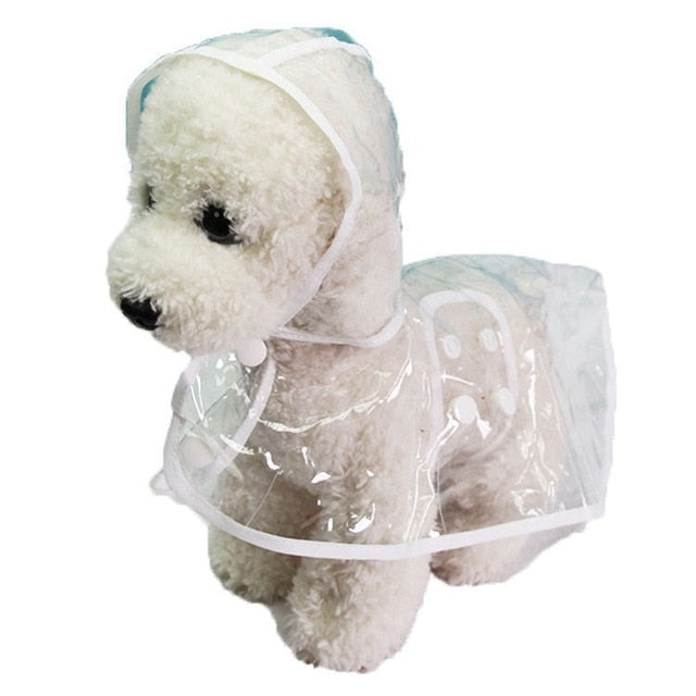 Transparent Pet Dog Raincoat