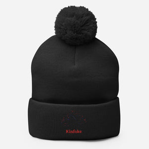 "Open image in slideshow, ""Kinfoke"" Pom-Pom Beanie"