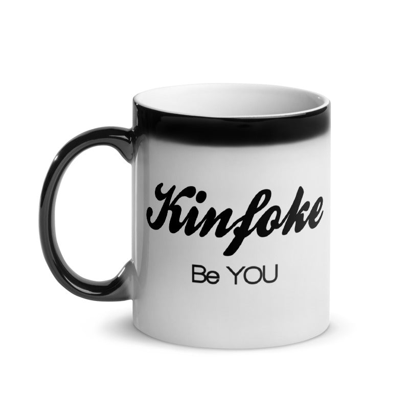 "Kinfoke ""Be YOU"" Glossy Magic Mug"