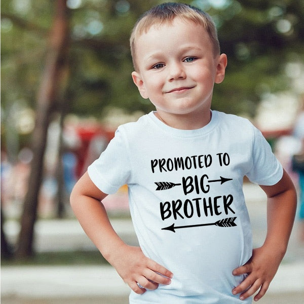 Big Bro Fashion Summer Boys Casual T Shirt - POSHHUGZ