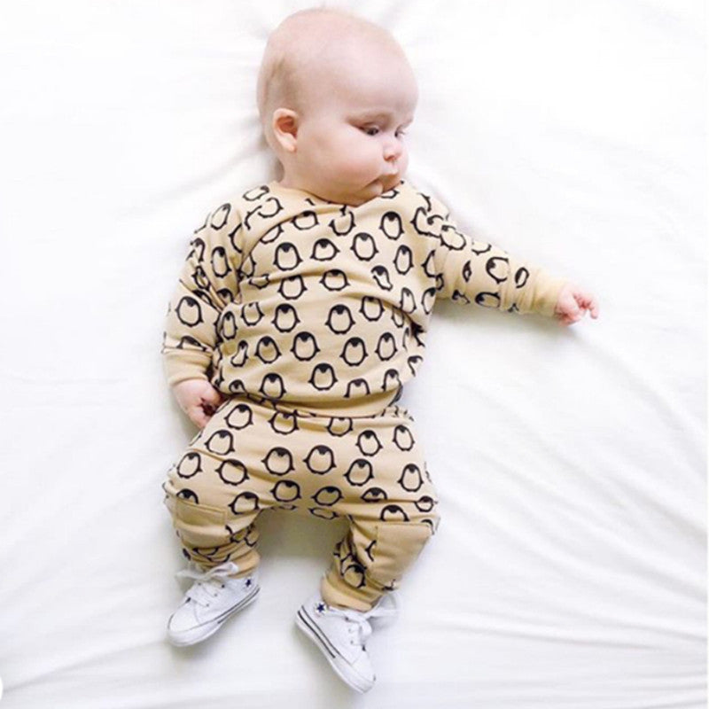 Autumn Penguin Baby Suit - POSHHUGZ