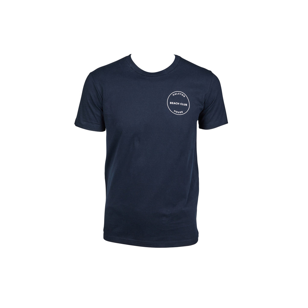 Halcyon House Men T-Shirt Navy Blue